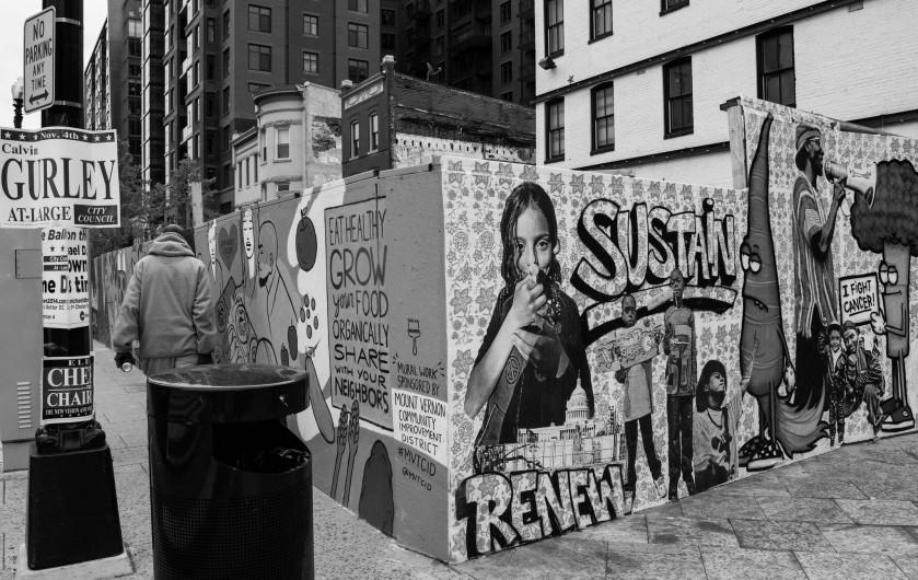 wall, graffiti